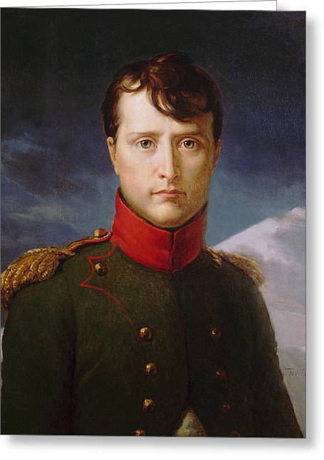 Napoleon Bonaparte Premier Consul Greeting Card by War Is Hell Store