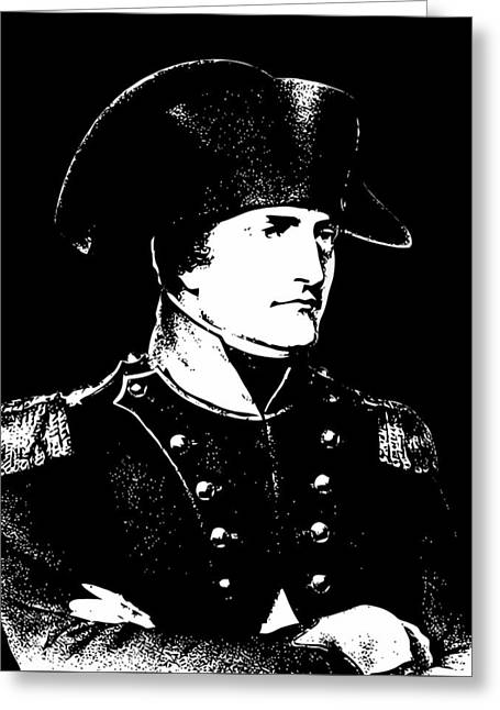 4th Digital Art Greeting Cards - Napoleon Bonaparte Greeting Card by War Is Hell Store