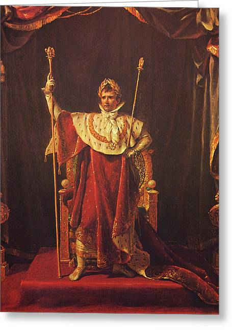 Product Paintings Greeting Cards - Napoleon Greeting Card by War Is Hell Store