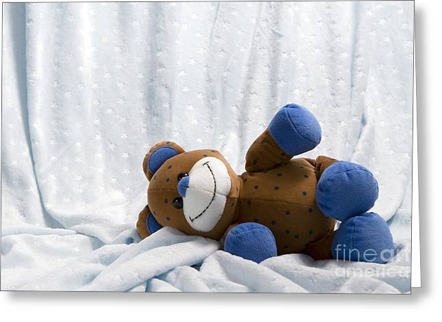Naptime 1 Greeting Card by Jeannie Burleson