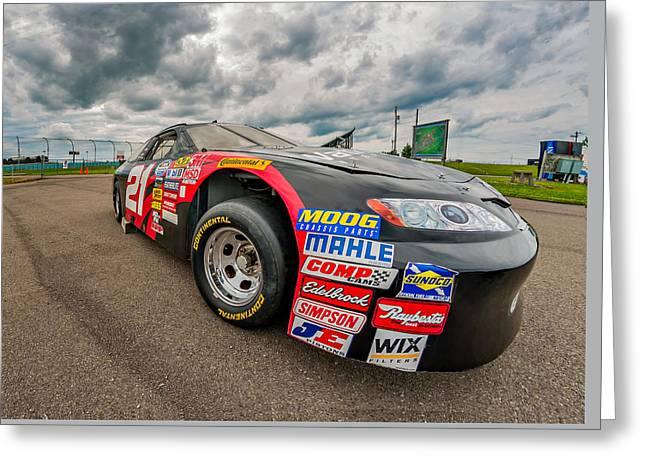 Print Photographs Greeting Cards - Nascar Toyota Race Car Greeting Card by Steve Harrington