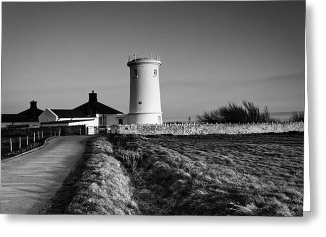 Vale Greeting Cards - Nash Point Lighthouse Greeting Card by Maurizio Rocco