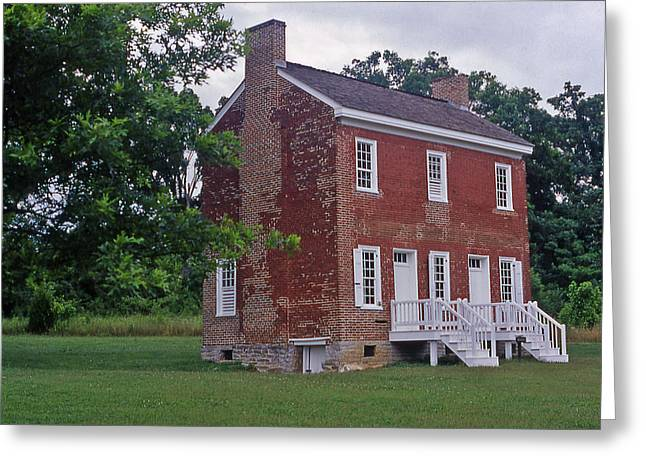 Natchez Trace Parkway Greeting Cards - Natchez Trace Gordon House - 2 Greeting Card by Randy Muir