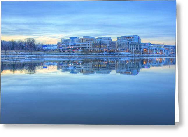 Md Greeting Cards - National Harbor MD Greeting Card by JC Findley