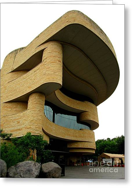 National Museum Of The American Indian 1 Greeting Card by Randall Weidner