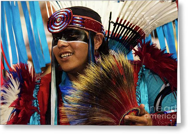 Native Pride 16 Greeting Card by Bob Christopher