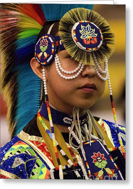 Native Pride 19 Greeting Card by Bob Christopher