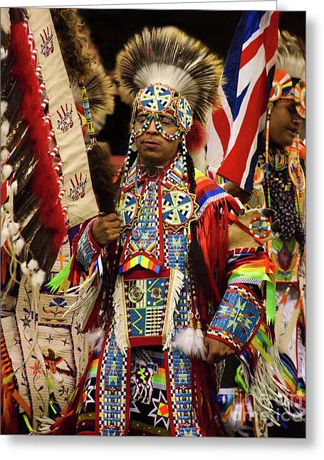 Native Pride 24 Greeting Card by Bob Christopher