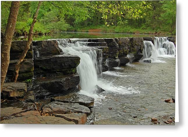 Natural Dam Greeting Card by Ben Prepelka