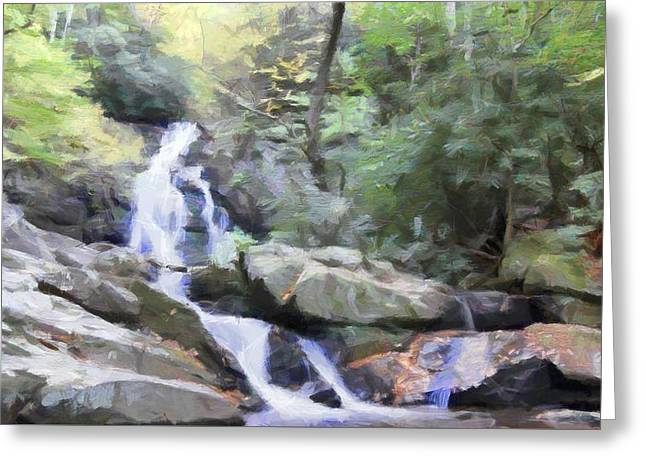 Gatlinburg Tennessee Greeting Cards - Natural Haven Greeting Card by Dan Sproul