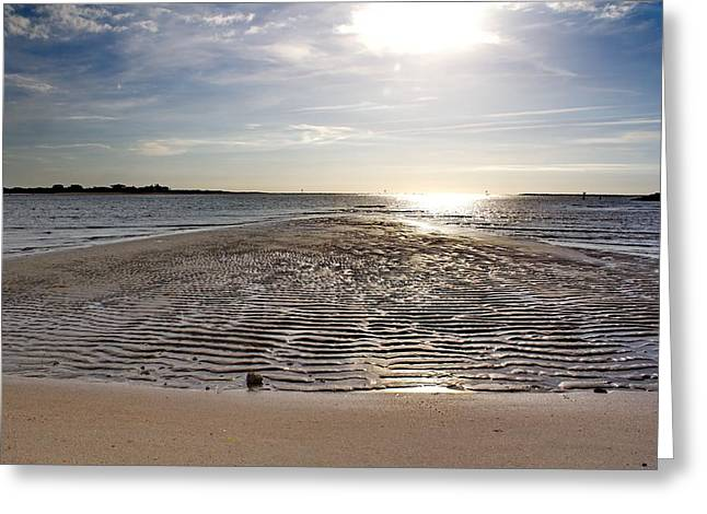 Ocean Art Photos Greeting Cards - Natural Pathway to the Ocean Greeting Card by Brian Hamilton