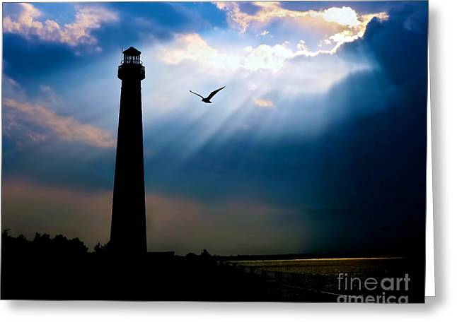 Light Beams Greeting Cards - Nature Shines Brighter Greeting Card by Mark Miller