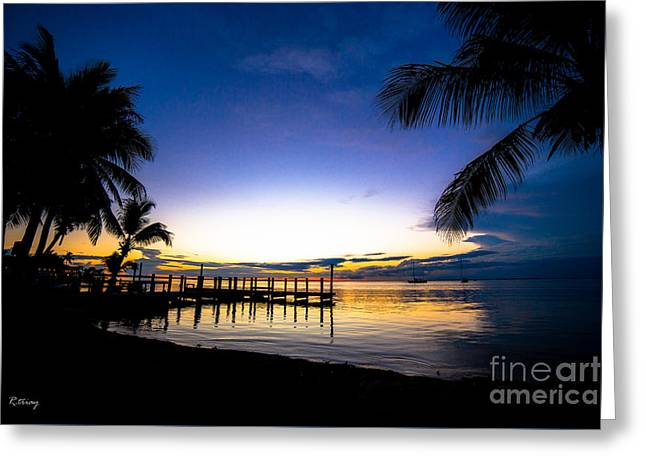 Boats In Water Greeting Cards - Natures Calling Greeting Card by Rene Triay Photography