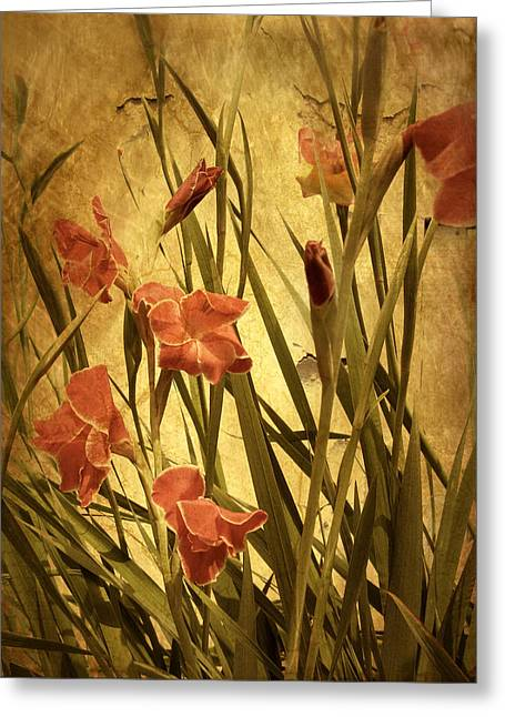 Blooms Digital Greeting Cards - Natures Chaos in Spring Greeting Card by Jessica Jenney