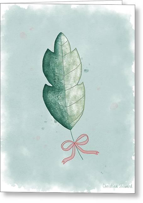 Nature's Gift Greeting Card by Christina Steward