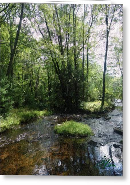 Fall Grass Greeting Cards - Natures Pride Greeting Card by Joan Reese