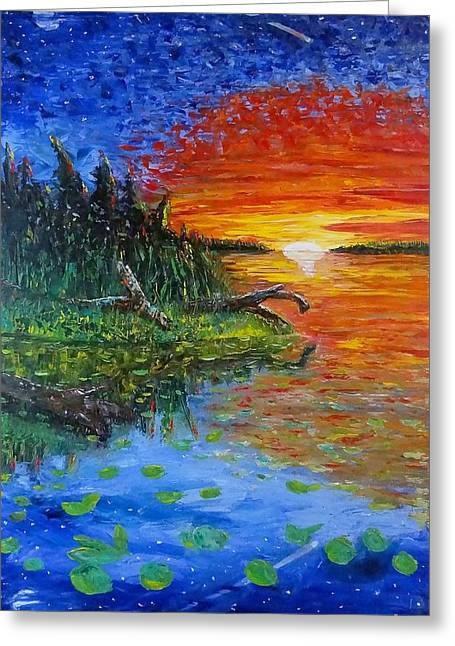 Recently Sold -  - Reflection In Water Greeting Cards - Natures Reflection Greeting Card by Brad Hamilton