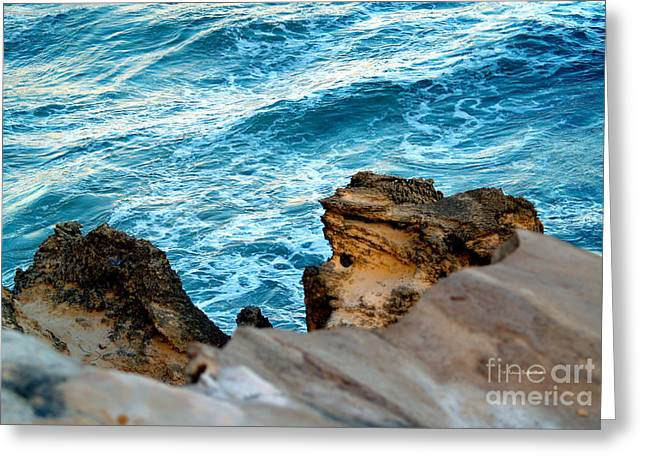 Lithified Greeting Cards - Natures Sculptures VI Greeting Card by Patricia Griffin Brett