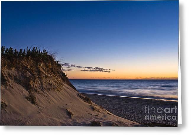 Nauset Beach Sunrise Greeting Card by John Greim