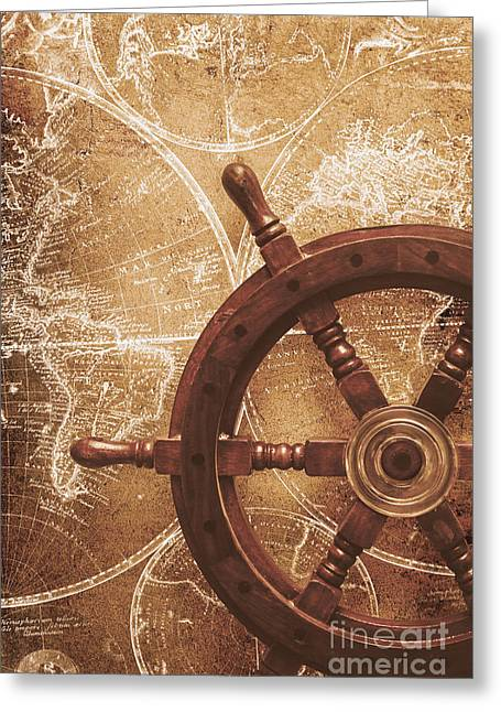 Nautical Exploration  Greeting Card by Jorgo Photography - Wall Art Gallery