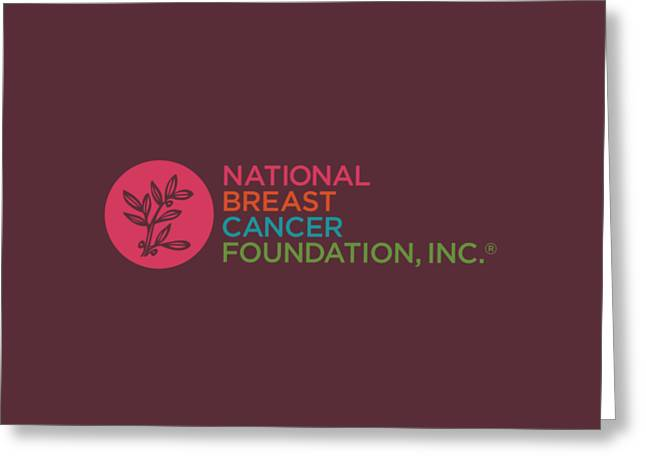 Nbcf Color Greeting Card by National Breast Cancer Foundation