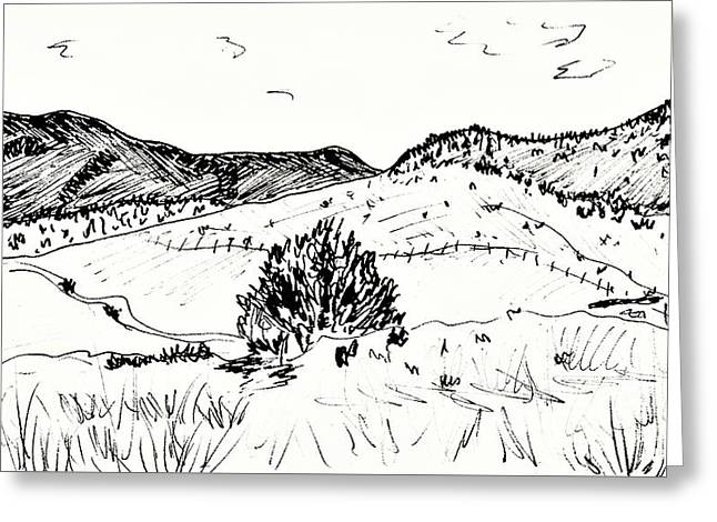 Caves Greeting Cards - Near Guadix Greeting Card by Chani Demuijlder