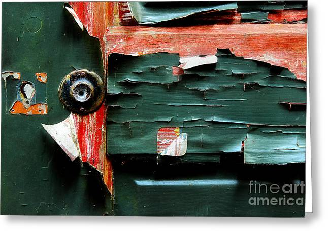 Painted Details Greeting Cards - Nearing The End Greeting Card by Michael Eingle