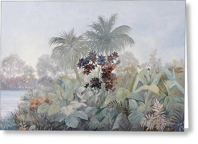 Humidity Greeting Cards - Nebbiolina Fitta Greeting Card by Guido Borelli