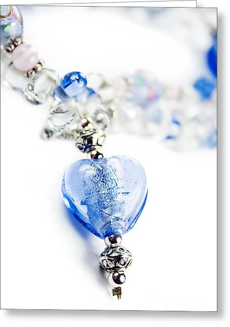 Posh Greeting Cards - Necklace Greeting Card by Ryan Jorgensen