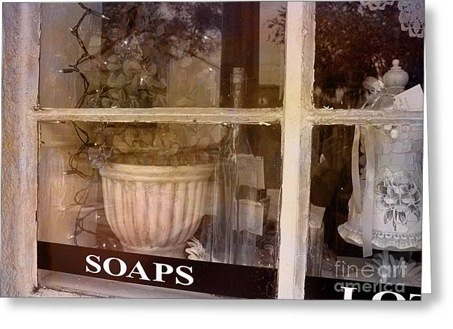 Antic Greeting Cards - Need Soaps Greeting Card by Susanne Van Hulst