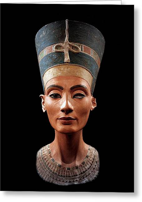 Nefertiti  Greeting Card by Egyptian School