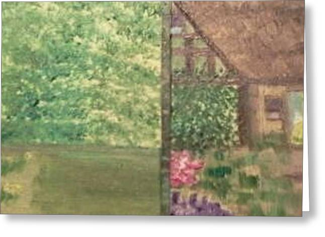 Quaker Greeting Cards - Neighbors Greeting Card by Cindy  Riley