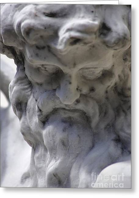 Old Man With Beard Greeting Cards - Neptune Greeting Card by Sue Harper