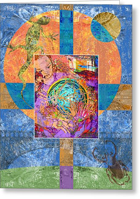Mary Ogle Greeting Cards - Nest Greeting Card by Mary Ogle