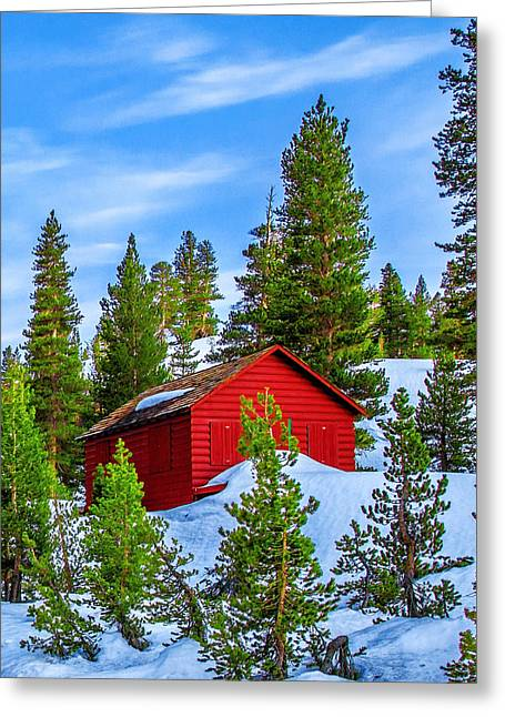Nestled In Greeting Card by Az Jackson