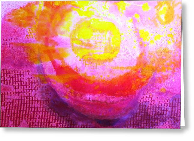 Netting Paintings Greeting Cards - Netting the Sun Greeting Card by Ronald Oliver