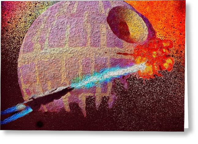 Xwing Greeting Cards - Never Tell Me The Odds Greeting Card by Mark Taylor