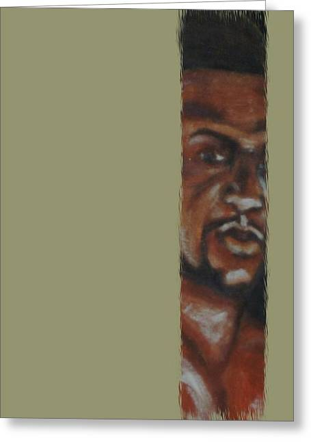 Print On Canvas Mixed Media Greeting Cards - New Comer Greeting Card by Joseph Ferguson