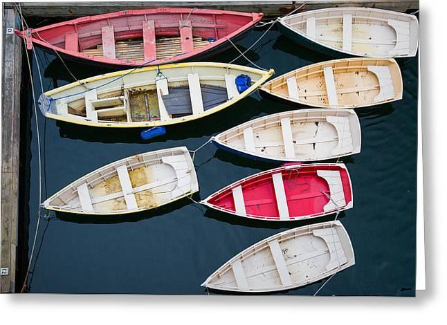 New England Boats 3  Greeting Card by Emmanuel Panagiotakis