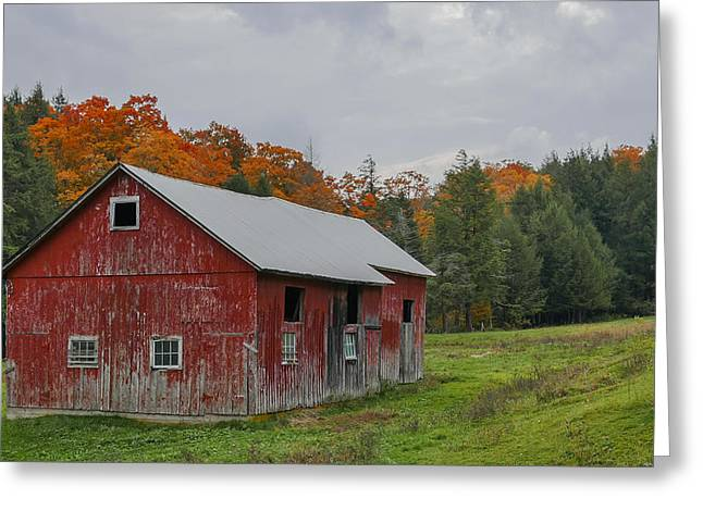 New england red barn photograph by robert bellomy for New england barns for sale