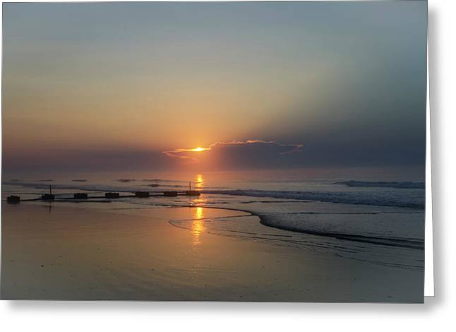 New Jersey - Beauty Of The Atlantic Greeting Card by Bill Cannon