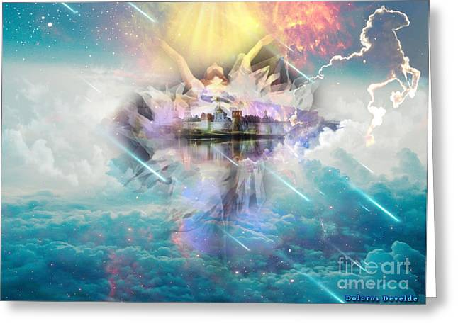 Born Again Greeting Cards - New Life Greeting Card by Dolores Develde