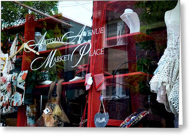 Store Fronts Greeting Cards - Northwest 23rd Greeting Card by Mary Chant