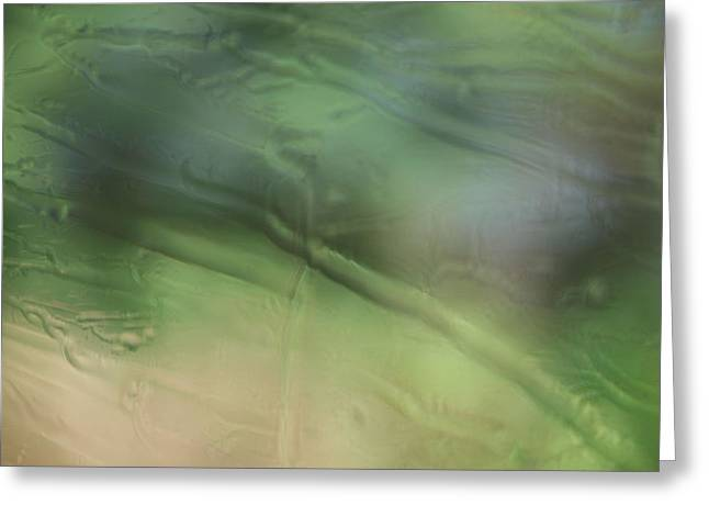 Rain Streaked Window Greeting Cards - New Meaning To Rainy Day Greeting Card by Kelly Schuler