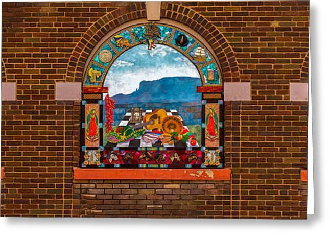 New Mexico Art Greeting Card by Jon Manjeot