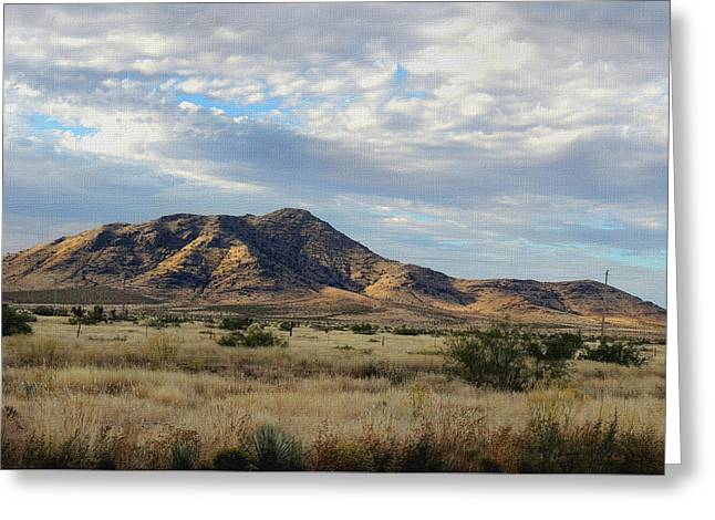 New Mexico Morning Greeting Card by Gordon Beck