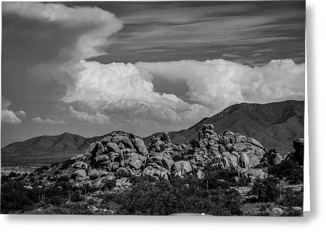 Take Over Greeting Cards - New Mexico Greeting Card by Nestor Correa