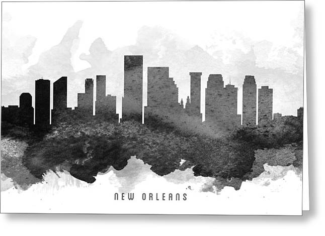 Louisiana Greeting Cards - New Orleans Cityscape 11 Greeting Card by Aged Pixel