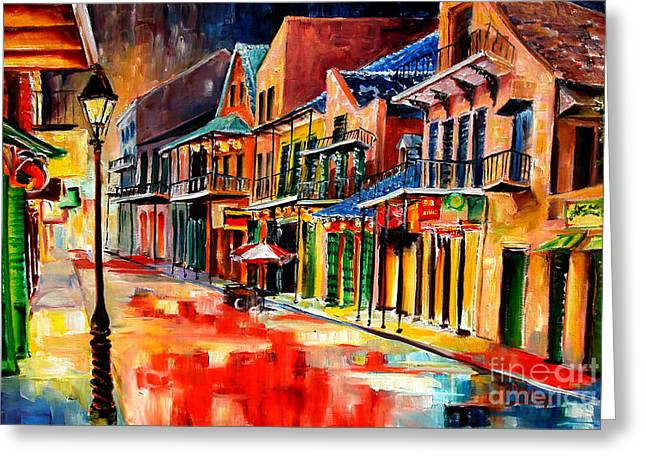 New Orleans Jive Greeting Card by Diane Millsap