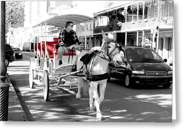 Eye4life Photography Greeting Cards - New Orleans Life Greeting Card by Alicia Morales